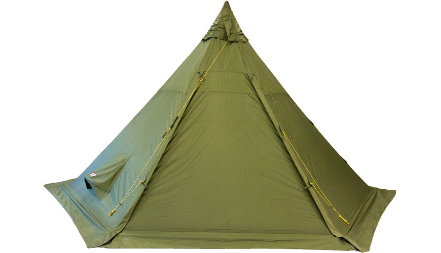 Helsport Pasvik 4-6 Outertent + Pole green